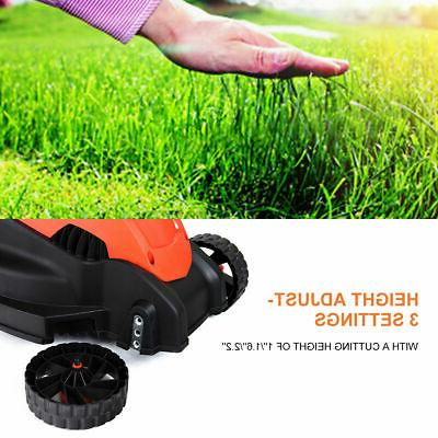 12 Amp 14-Inch Push Corded With Grass