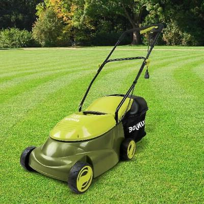 14-inch Electric Lawn Mower Yard Grass Cleaner 12 Amp Corded