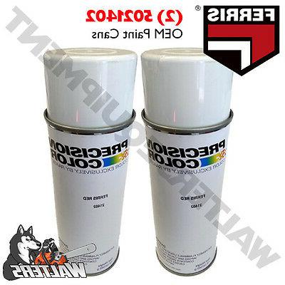 2 genuine 5022585 5021402 paint cans mower
