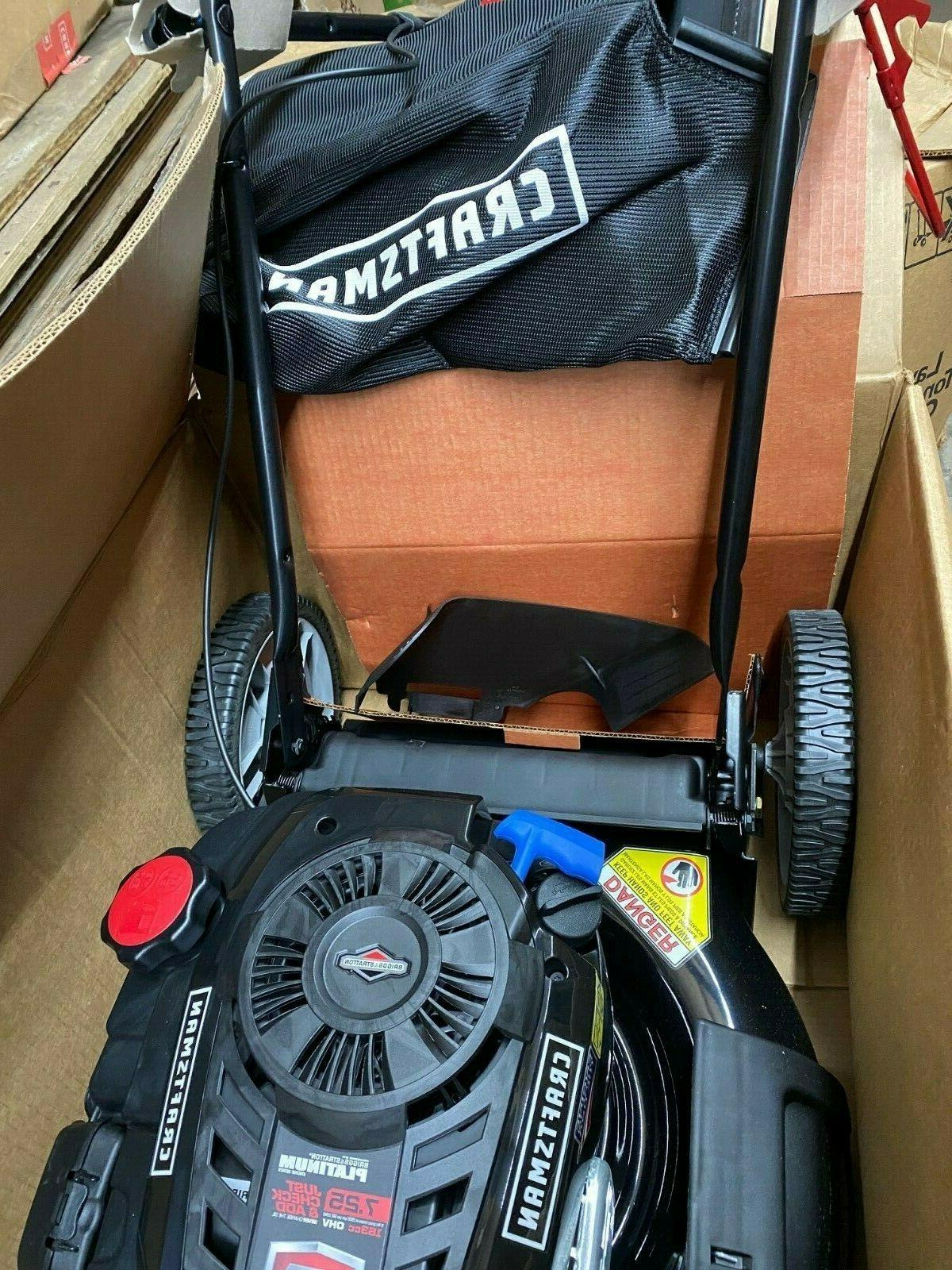 Craftsman CUT MOWER WITH AND STRATTON