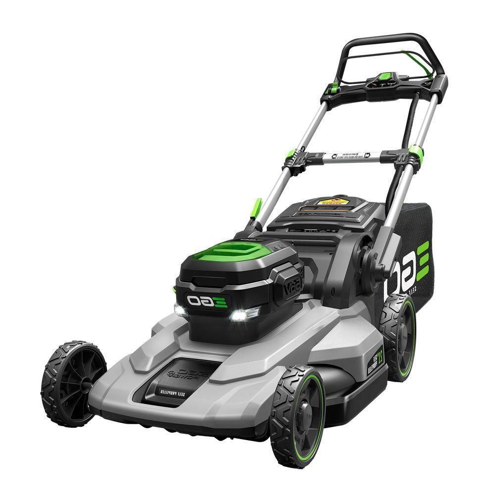 EGO Cordless Mower Included