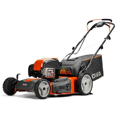 22 inch self propelled gas lawn mower