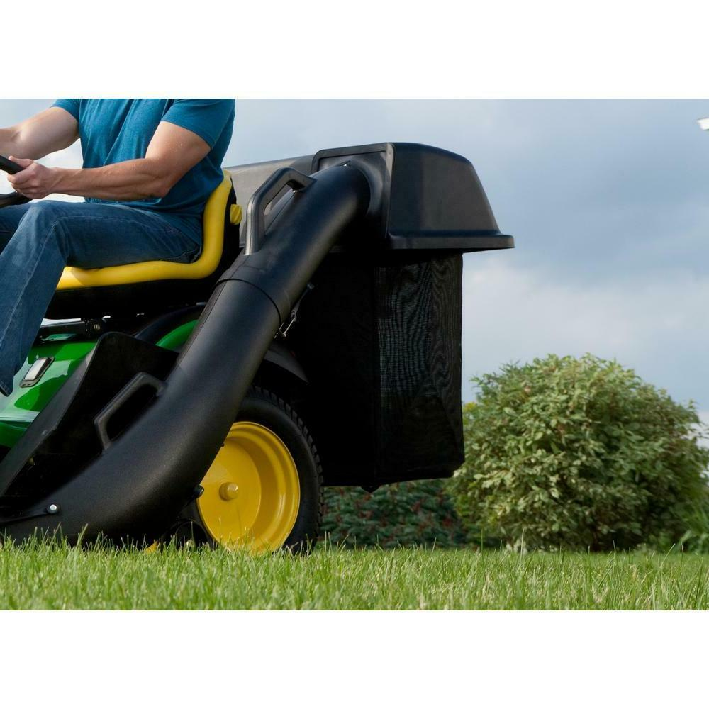 48'' Twin Deere Riding Lawn Mower Grass Collector