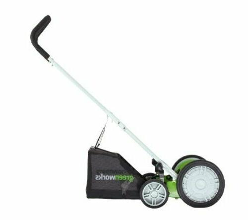 5-Blade Hand Push Reel Grass