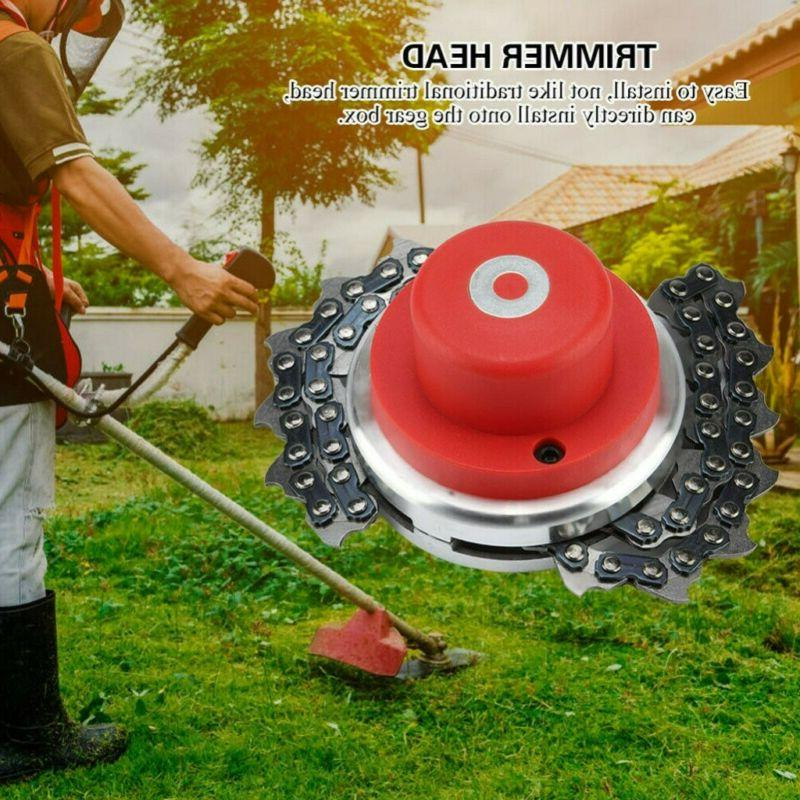 65Mn Head Chain Brush Grass Trimmer For Mower US