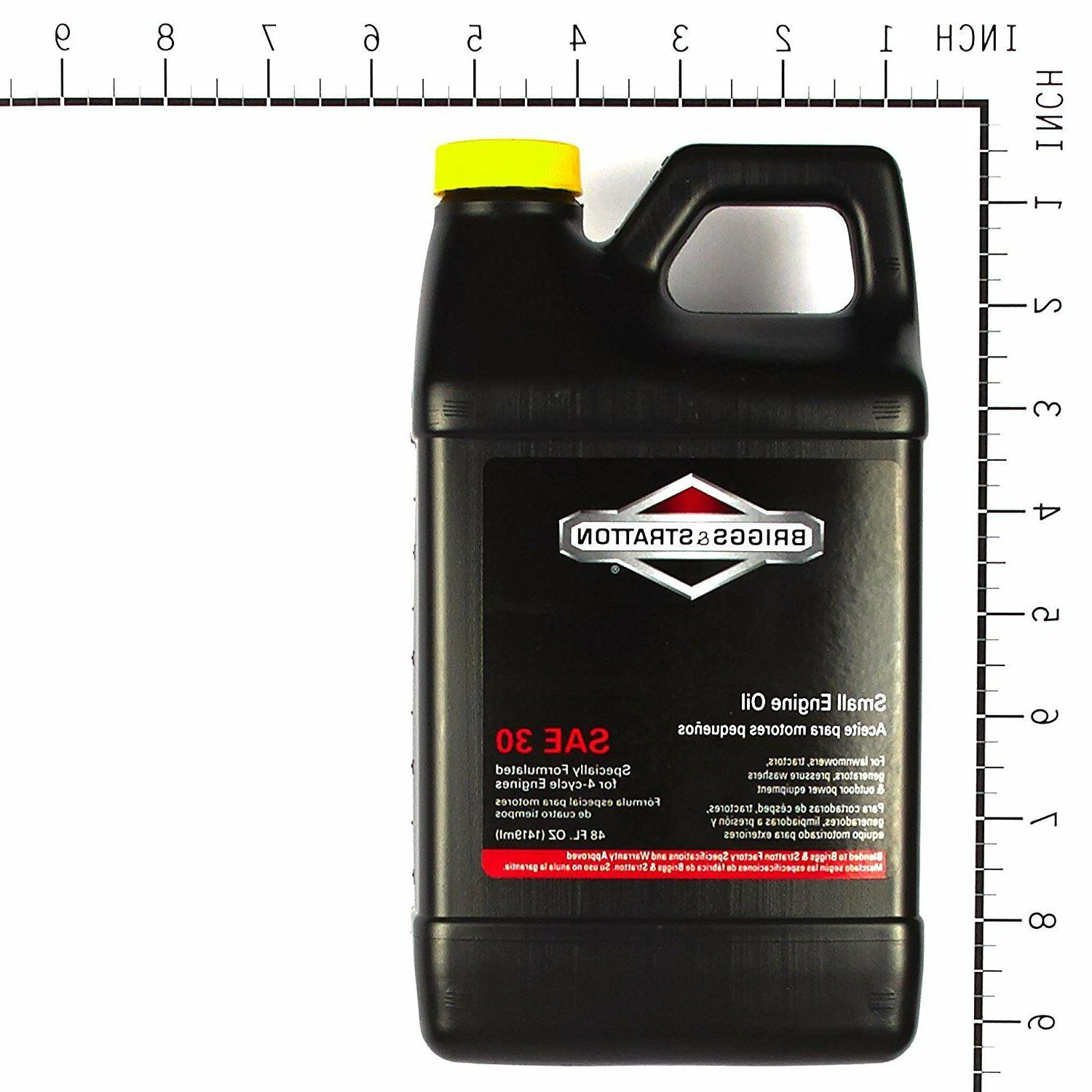 Briggs & Stratton 30W Oil for 48