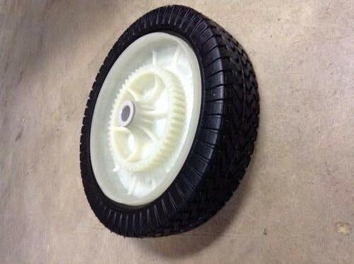 Craftsman Tow-Behind Lawn Sweeper Wheel Tire Complete