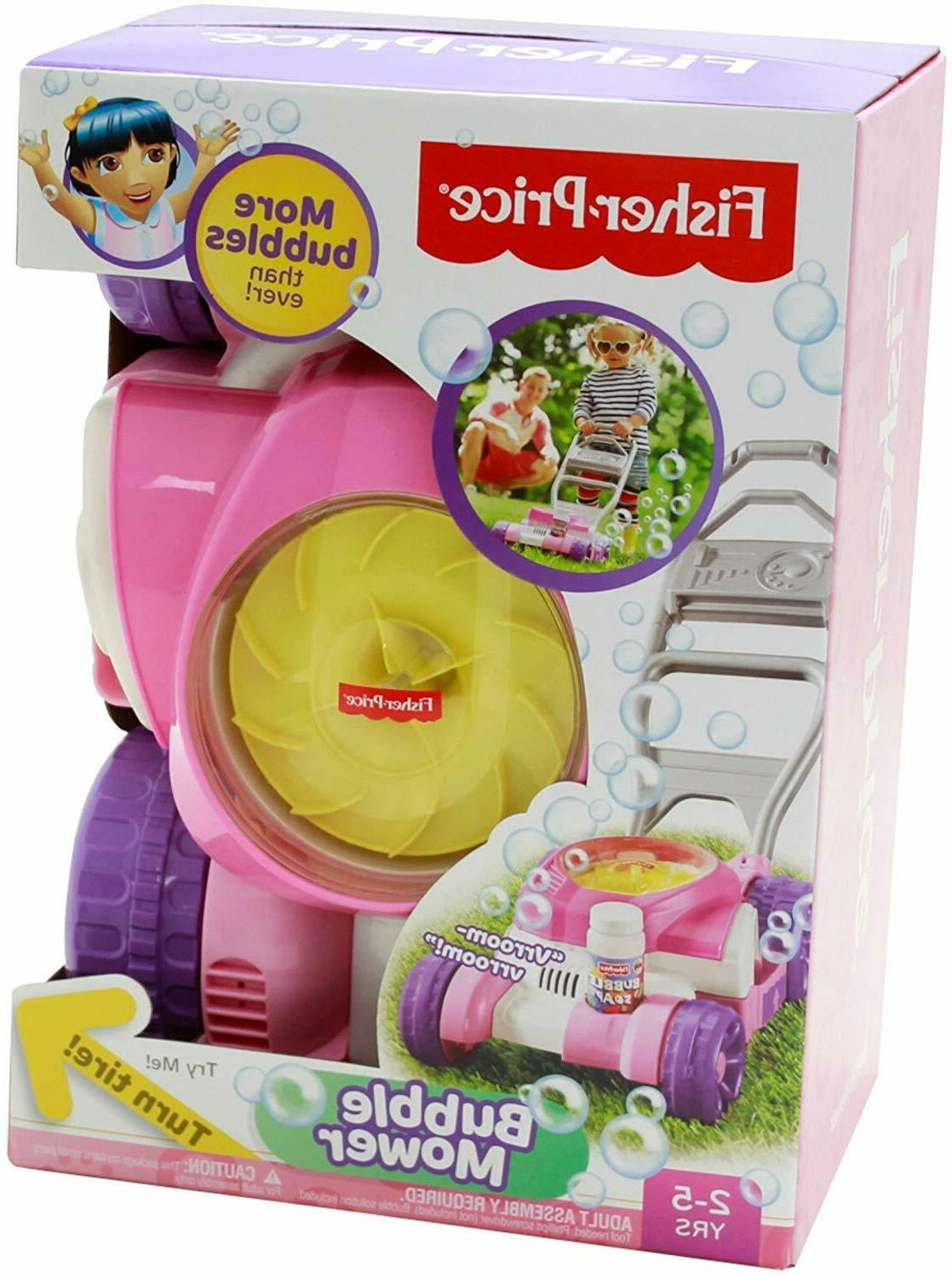 Fisher-Price Bubble Mower Outdoors Toy, Pretend