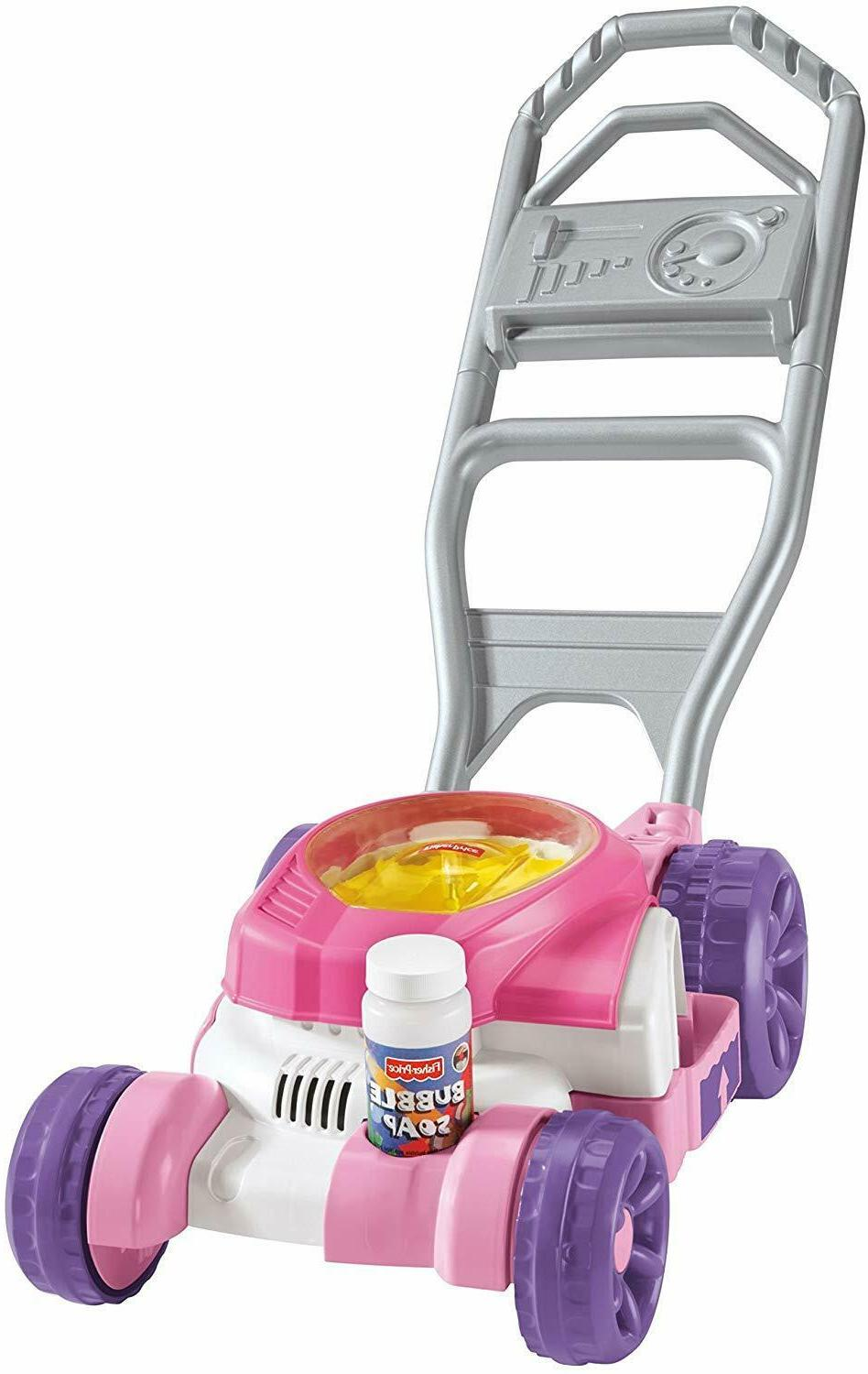 Fisher-Price Bubble Push Lawn Mower Outdoors Pretend