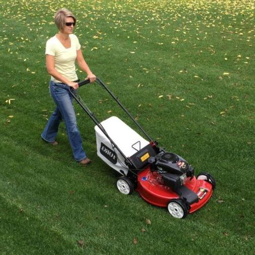 Gas Lawn Mower Self Propelled Variable Deck