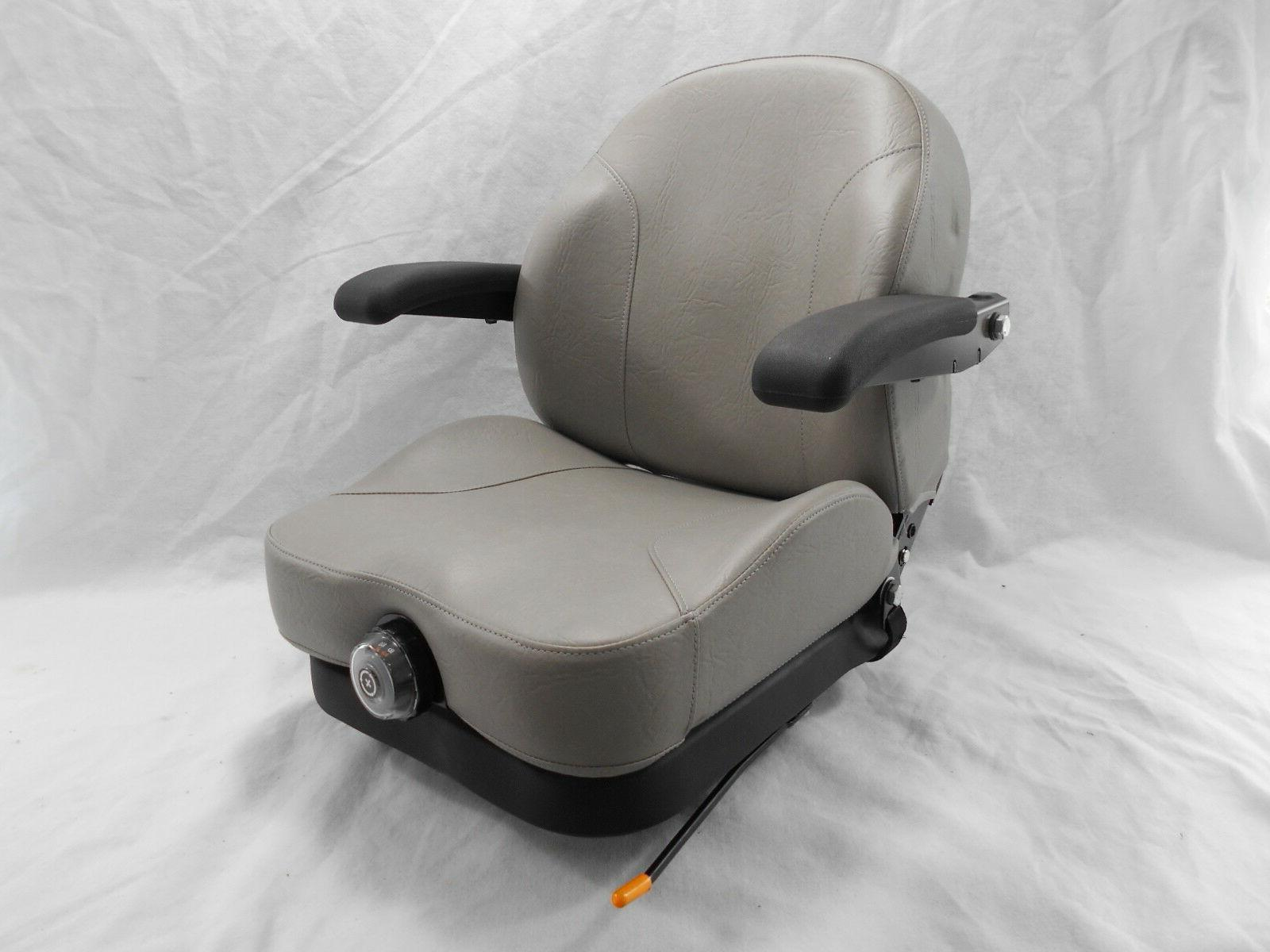 gray ultra ride suspension seat i3m fits