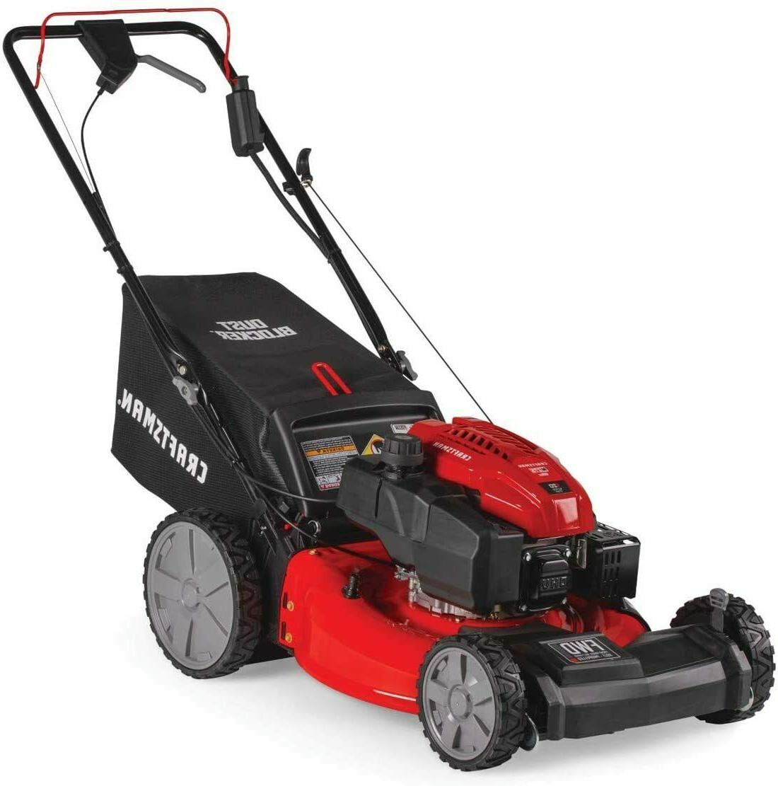 Craftsman Lawn inch Propelled, Push, Behind