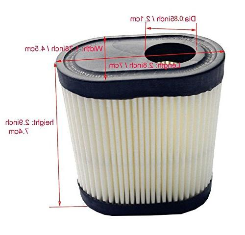 Podoy for Tecumseh 740083A Toro Craftsman Mower Air Filter Replacement