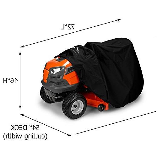 Himal Outdoors Mower Cover -Tractor Fits Decks up Storage 210D Oxford, Protection Fit Drawstring & Bag