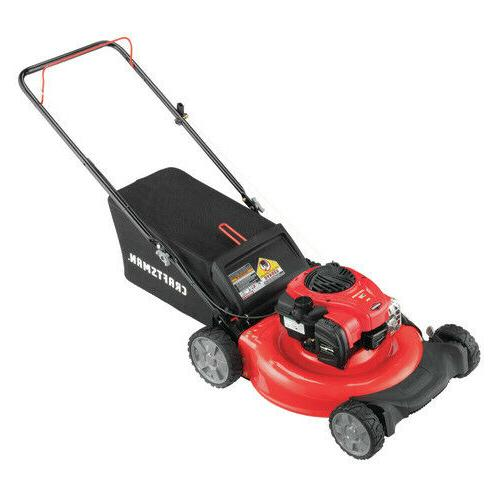 NEW CRAFTSMAN M110 140-cc 21-in Gas Push Lawn Mower with Bri