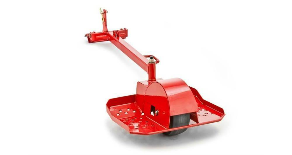 one wheel sulky for walk behind mower