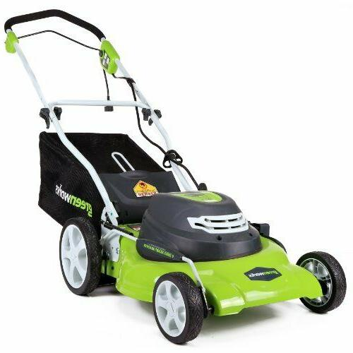 Specials ! GreenWorks 25022 12 Amp Corded 20-Inch Lawn Mower