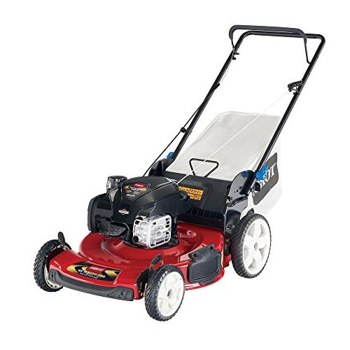 "Toucan City 22"" Stratton Gas Walk Behind Push Mower 21329"