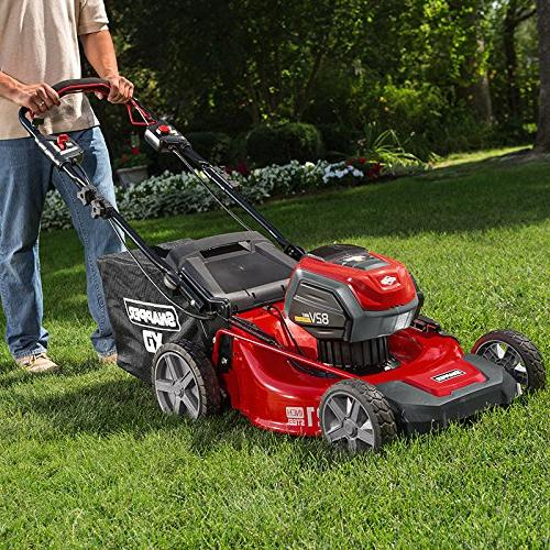 Snapper XD Electric 21-inch Self-Propelled Lawnmower Kit with Battery