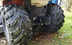 lawn garden tractor receiver hitch universal snapper