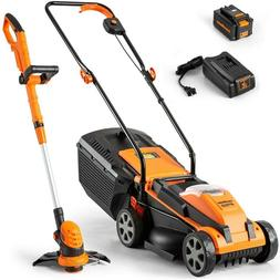 LawnMaster Lawn Mower / String Trimmer Combo Tool Kit 24V MA