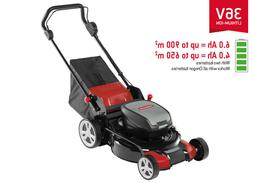Oregon LM400 Lawn Mower With  4.0 Ah Batteries & Rapid Charg