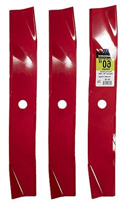 "MaxPower 561143 3-Mulching Blade Set for 60"" Cut Replaces Ex"