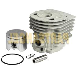 New 46mm Cylinder Piston & Ring Kit for Husqvarna Rancher 55