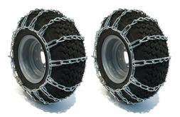 The Rop Shop Pair 2 Link Tire Chains 15X6.00X6 For Mtd/Cub C