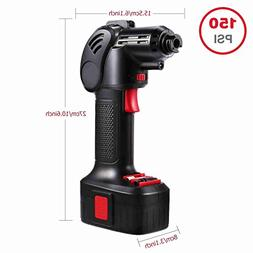Portable Automatic Cordless Power Inflator Battery Powered I