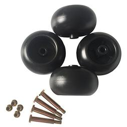 Parts Camp Replacement Mower Deck Wheels for Cub Cadet RZT50