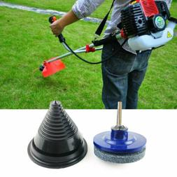Rotary Lawnmower Brushcutter Blade Garden Tool Sharpener And