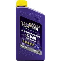 Royal Purple ROY01030 SAE30 synthetic Oil, 1 quart, 1 Pack