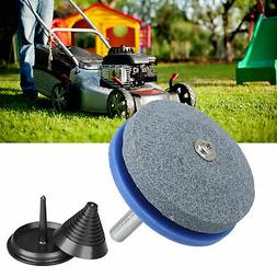 Sharpener And Balancer Kits For Rotary Lawn Mower Blade Gard