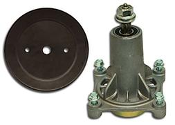 MowerPartsGroup Spindle Assembly with Pulley Replaces Ariens