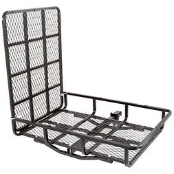 Apex UCC500 Hitch-Mounted Steel Cargo Carrier with Ramp-500l