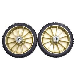 UNIVERSAL 8-INCH LAWN MOWER DRIVE WHEEL WITH ADAPTERS