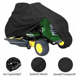 """Waterproof UV 55"""" Long Riding Lawn Mower Tractor Cover Prote"""