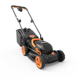 "WORX WG779 20V PowerShare13"" Cordless Lawn Mower with Intell"