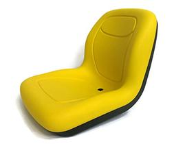 The ROP Shop New Yellow HIGH Back SEAT for Cub Cadet Zero Tu