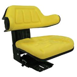 YELLOW WRAP BACK TRACTOR SUSPENSION SEAT JOHN DEERE 1020, 15